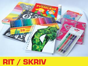 rit och skriv, rita skriva