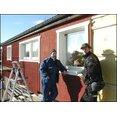Isolering med ny panel på villa i Nora, storlek: Väggfasad ca: 100 kv, beställare: Privatperson