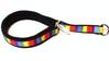 Nomehalsband flerfärgat med svart fleece - Visa mer information om den här produkten