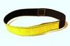 Jakthalsband gul microreflex med resår - Visa mer information om den här produkten