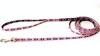Polykoppel 10mm * 190cm med tassar, rosa - Visa mer information om den här produkten