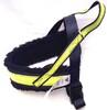 Spårsele alac svart med gul microreflex och piléfodrat bröstband - Visa mer information om den här produkten