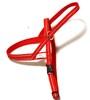 Småhundssele alac röd invävd reflex - Visa mer information om den här produkten