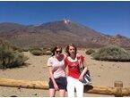 Emma Ericsson och Viktoria på läger i Spanien 2013