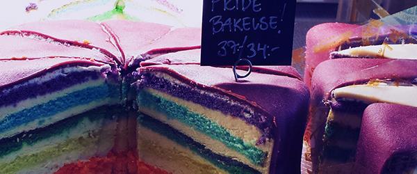 Pridebakelse på Tewe's