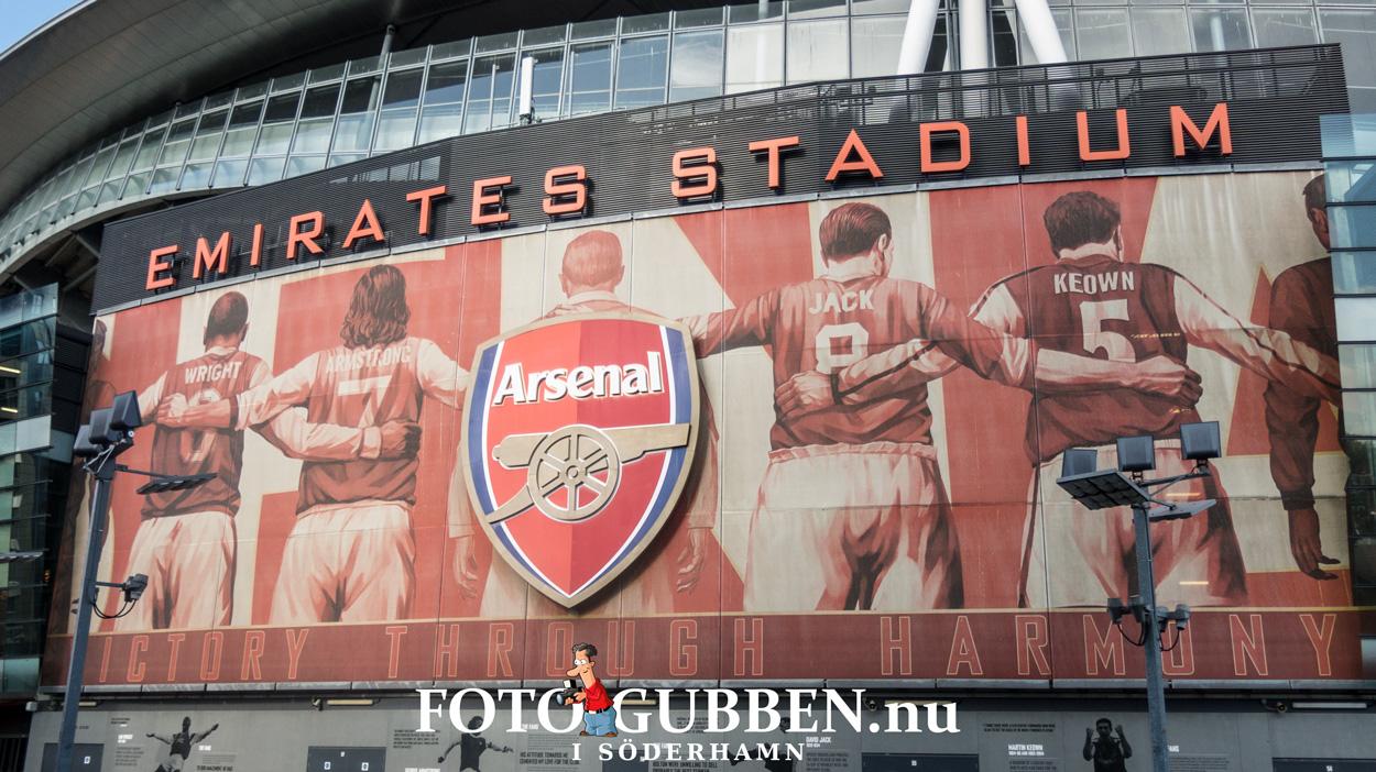 Fotbollsresa - Arsenal FC - 2016