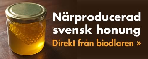 Närproducerad svensk honung