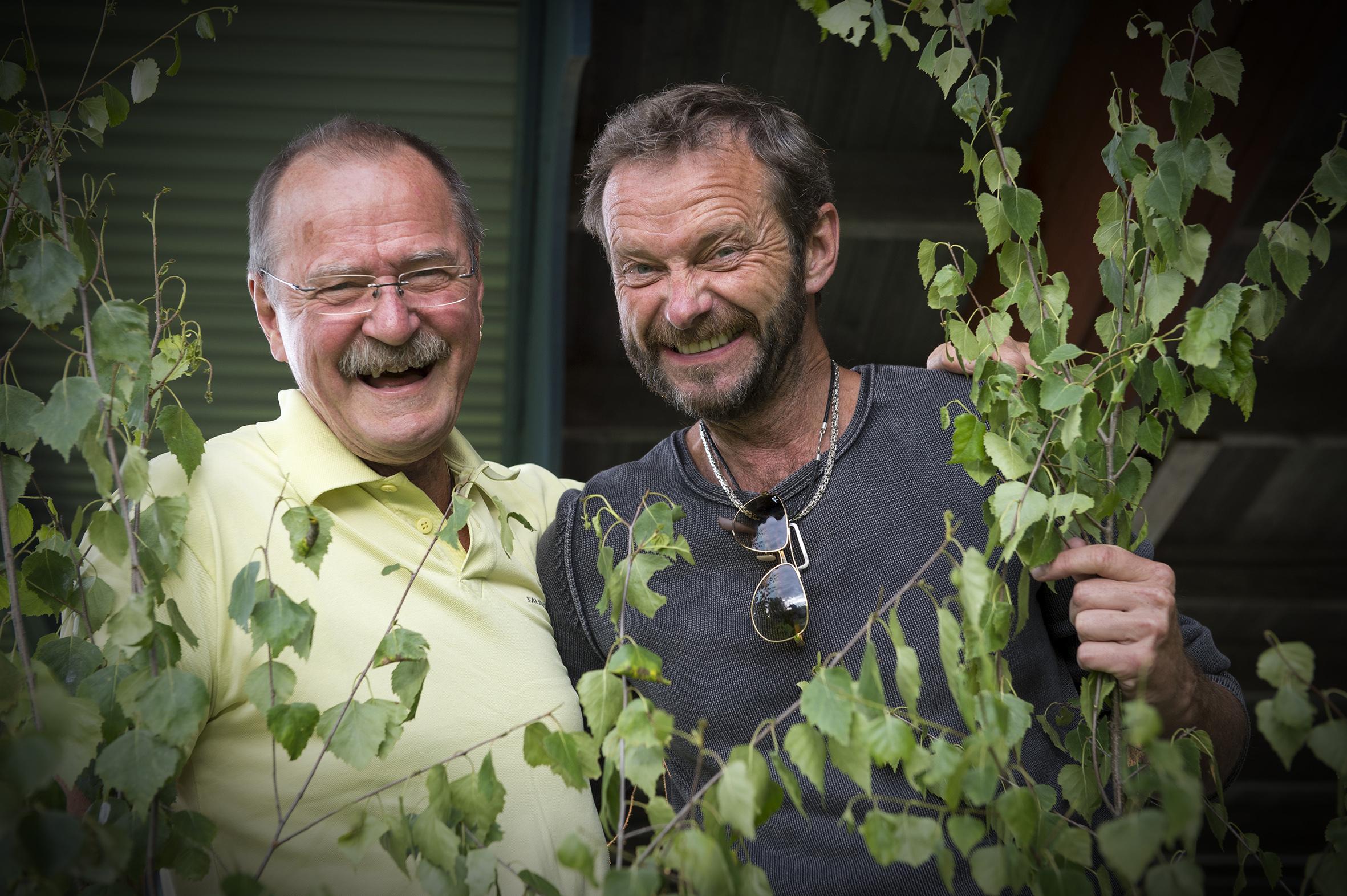 Janne Krantz och Bengan Janson