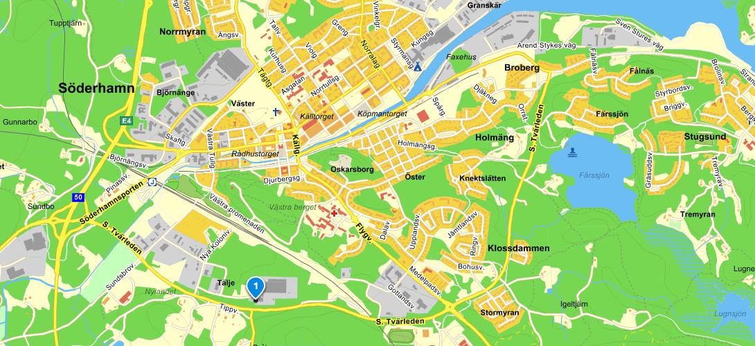 Hitta hit - klicka för vägbeskrivning