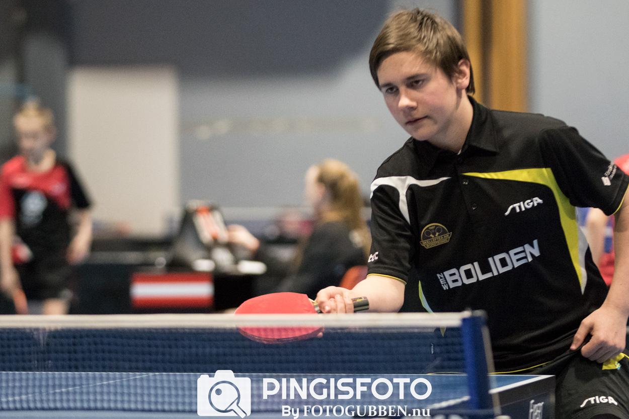 Isac Broberg - Skellefteå AIK Bordtennis - 2017
