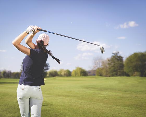 Stabil golfsving