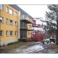 Rotrust av hyrerfastighet, storlek 39 lägenheter, beställare Lindesbergs bostäder AB, Ånäsvägen 13-15 Lbg