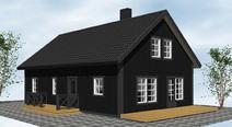 1-¾-plan 158-4 - Visa mer information om det här huset