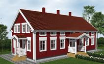 SLOTTSVILLAN-1 1-3/4 plan 270 - Visa mer information om det här huset