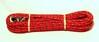 Spårlina poly 6mm * 15meter m invävd reflex röd - Visa mer information om den här produkten