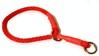Dressyrstryp 10mm rundpoly röd - Visa mer information om den här produkten