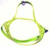 Småhundssele alac gul invävd reflex - Visa mer information om den här produkten