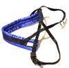 Småhundssele alac svart m blå satinfodrat bröstband - Visa mer information om den här produkten