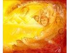 """Yellow desert"" 20x26 cm - Akrylmålning - Private"