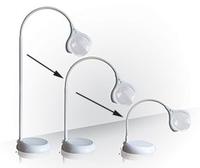 Förstoring golv/bord,vit - Visa mer information om den här produkten