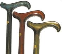 Träkäppar färgade - Visa mer information om den här produkten