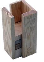 Sängförhöjnings kloss i trä - Visa mer information om den här produkten