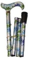 Käpp vikbar Ljus med blågrönt mönster - Visa mer information om den här produkten