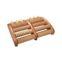 Fotmassage dubbel i trä - Visa mer information om den här produkten