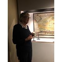 """Berättarstund på Söderhamns Museum """"Föreläsning om F15 och dess historia av Helge Ljungström från Flygmuseet och guidad tur av utställningen med Elisabeth Breig-Åsberg"""" 20191016"""